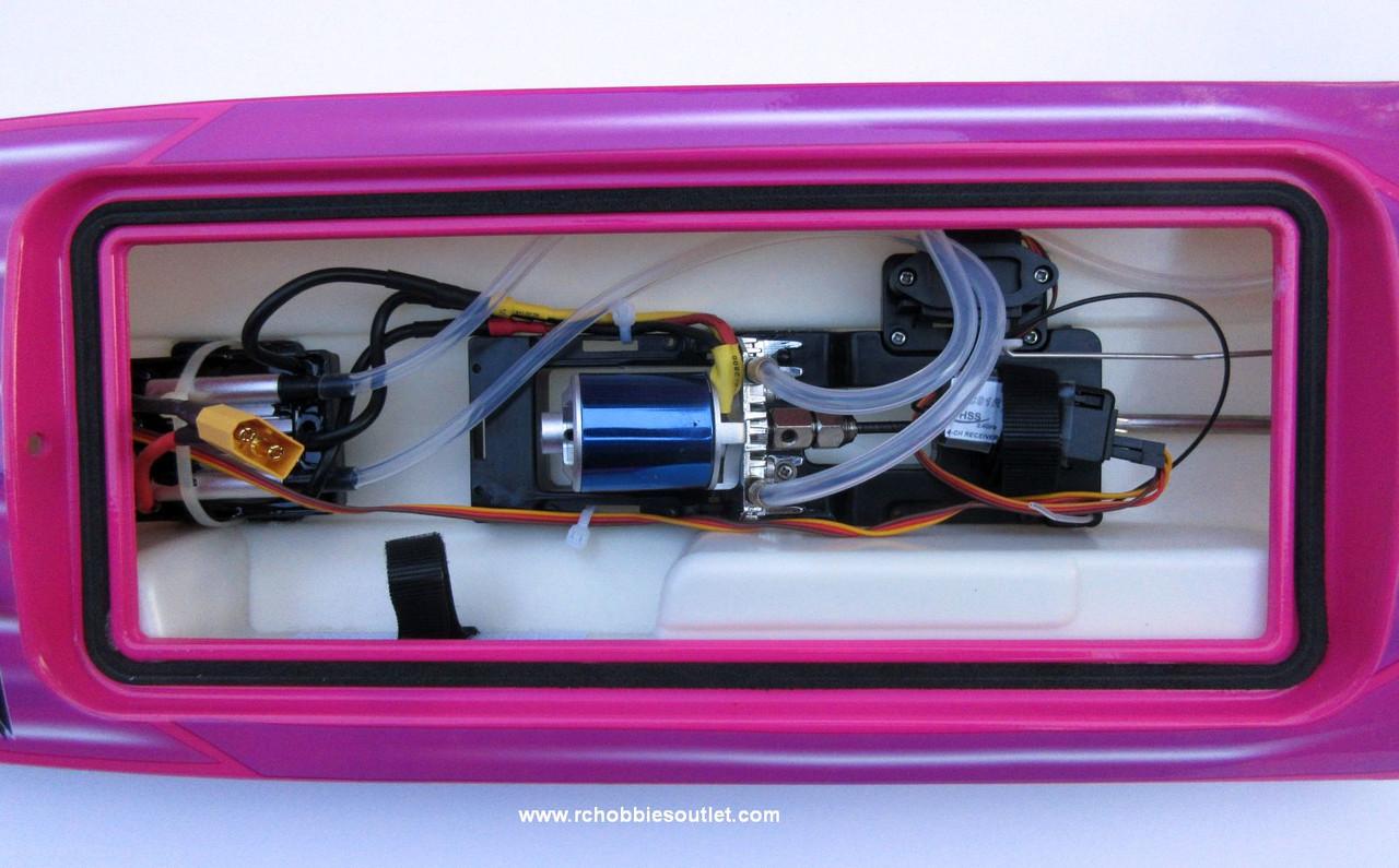 Joysway ROCKET V2 RC Boat Deep-V Hull Brushless Electric ARTR 8651
