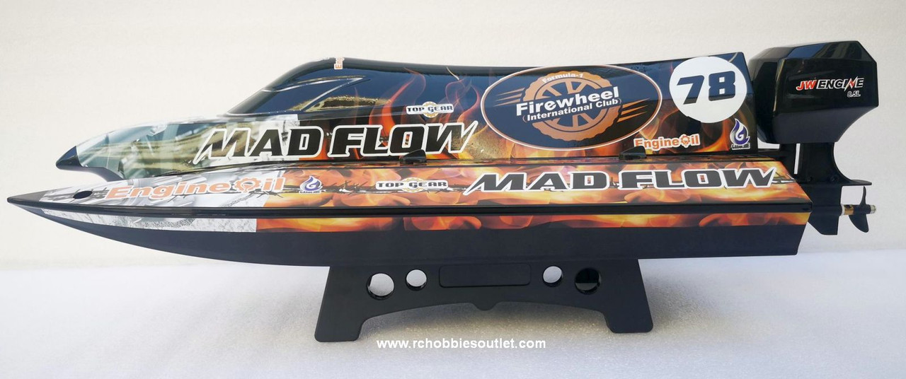 Joysway MAD FLOW V3 RC Boat Tunnel Hull Brushless Electric ARTR 8653V3