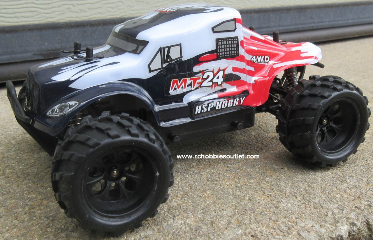 MT24 Monster RC Truck HSP Electric 4WD 2.4G  1/24th Scale 24693