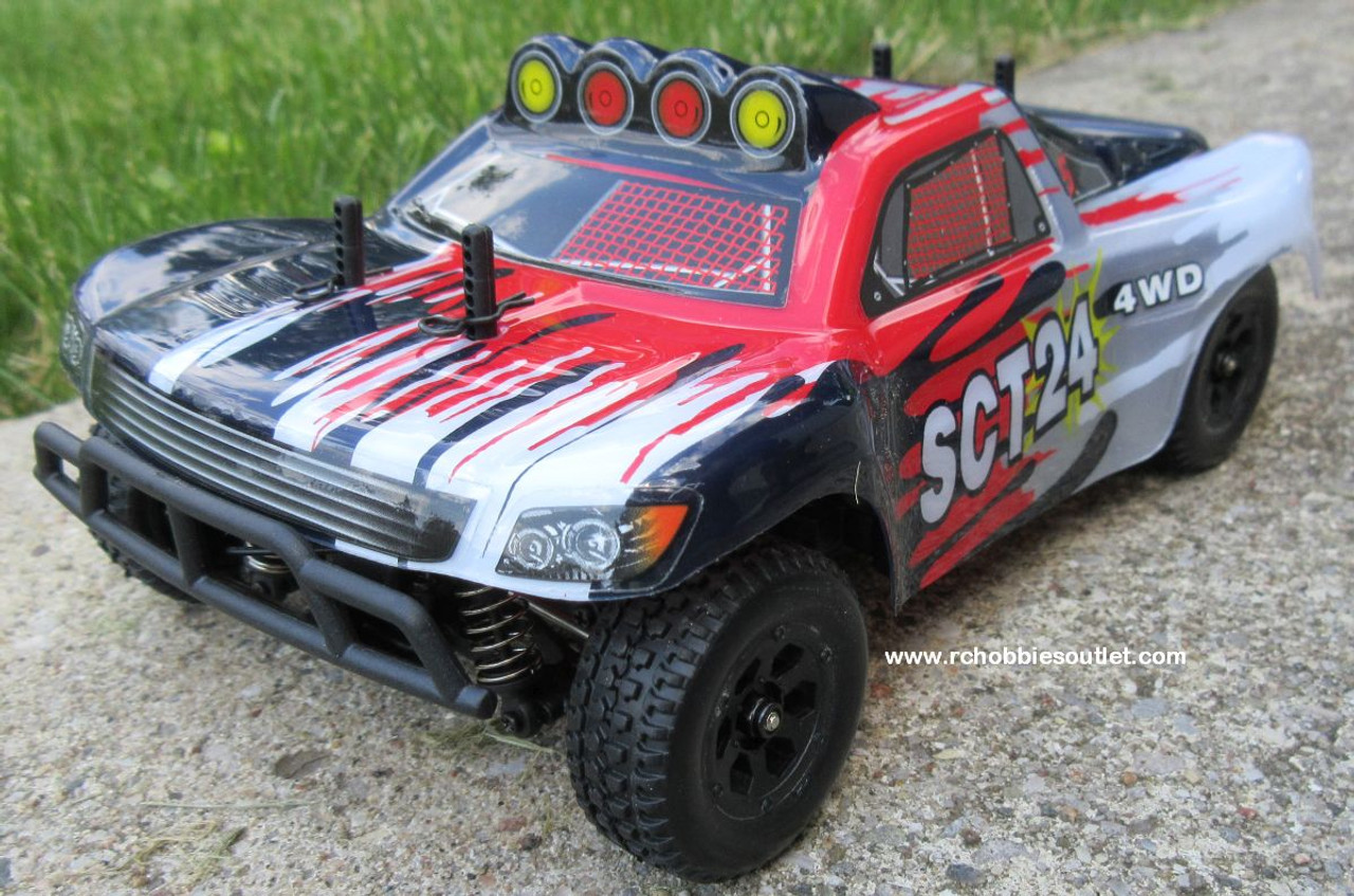 SCT24 Short Course RC Truck HSP Electric 4WD 2.4G  1/24th Scale 24793