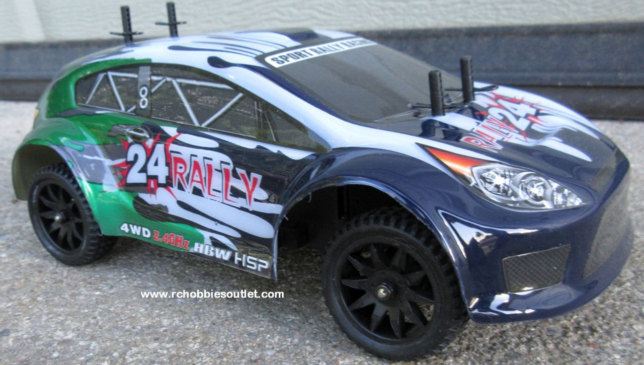 RALLY24 RC Rally Car HSP Electric 4WD 2.4G  1/24th Scale 24893