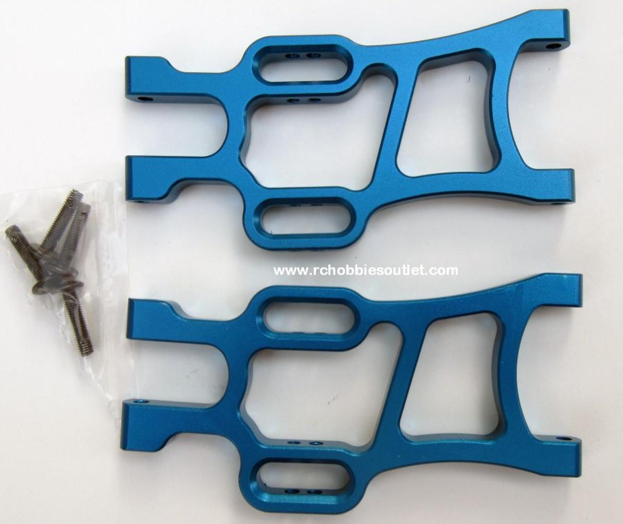 108821, 08056  108021  Blue  Aluminum Rear Lower Suspension Arm HSP Redcat ETC