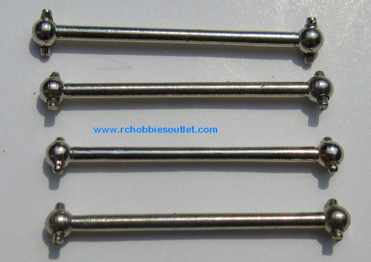 24612  246017 Steel Dogbones  ( 4 Pieces)  for HSP 1/24 Scale
