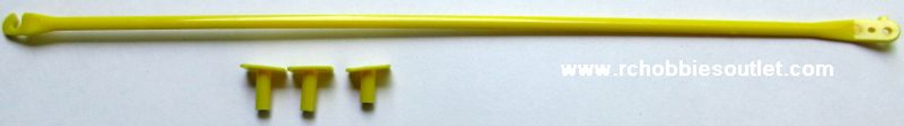 620206 Wing Struts-Yellow For J3 Cub V2 Joysway RC Airplane