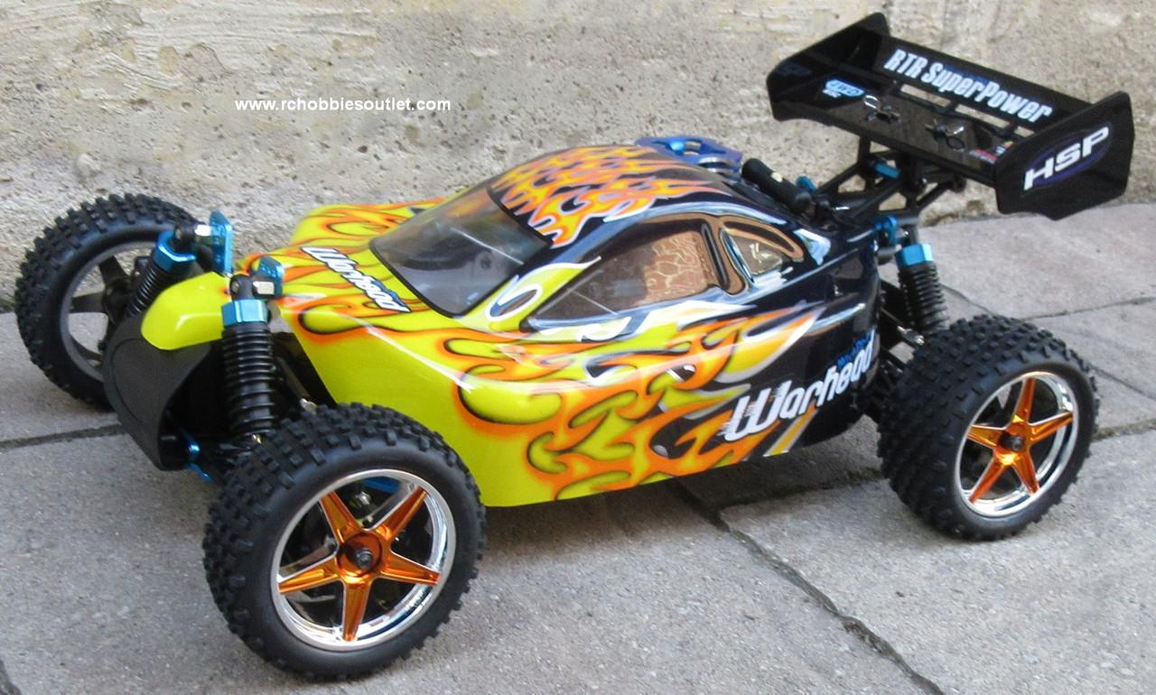 RC NITRO BUGGY / CAR HSP WARHEAD 2 SPEED 2.4G 1/10 Scale MA3