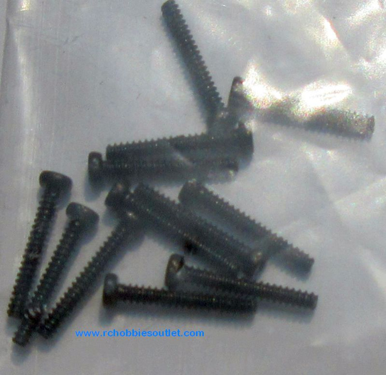 24641 Round Cross Head Self-Tapping Screw for  1/24 scale HSP and ECX RC Vehicles
