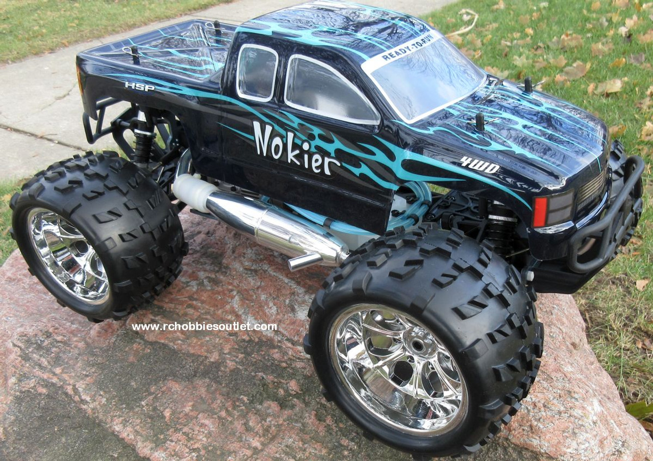 Nitro RC Truck 1/8 Scale   Nokier 4.57cc Engine  4WD 2 Speed  2.4G 86298