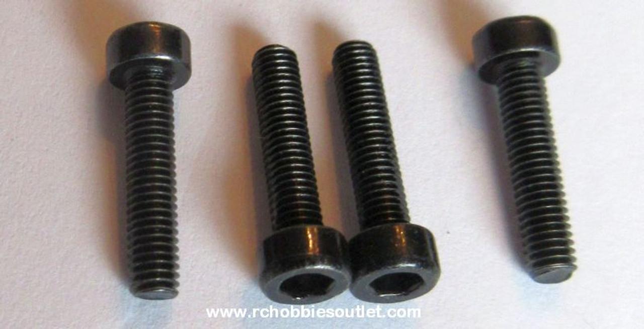 81220 - 24  Column Head Hex Mechanical Screw 3x14mm 4pcs HSP Redcat
