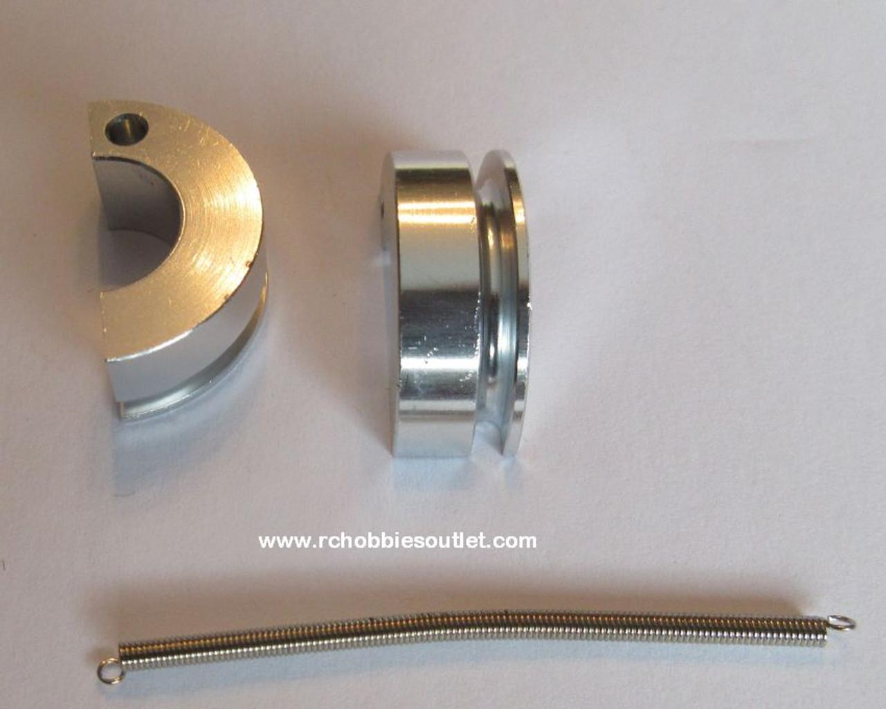 102273 Aluminum Clutch Shoe  Silver 02048
