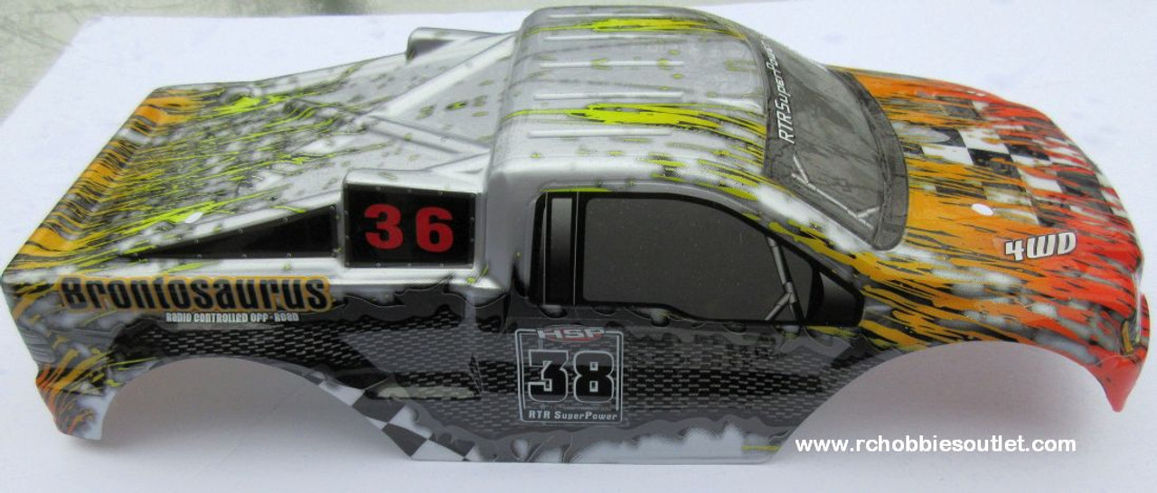 88043 Body Shell  1/10 Scale Truck Precut HSP Redcat