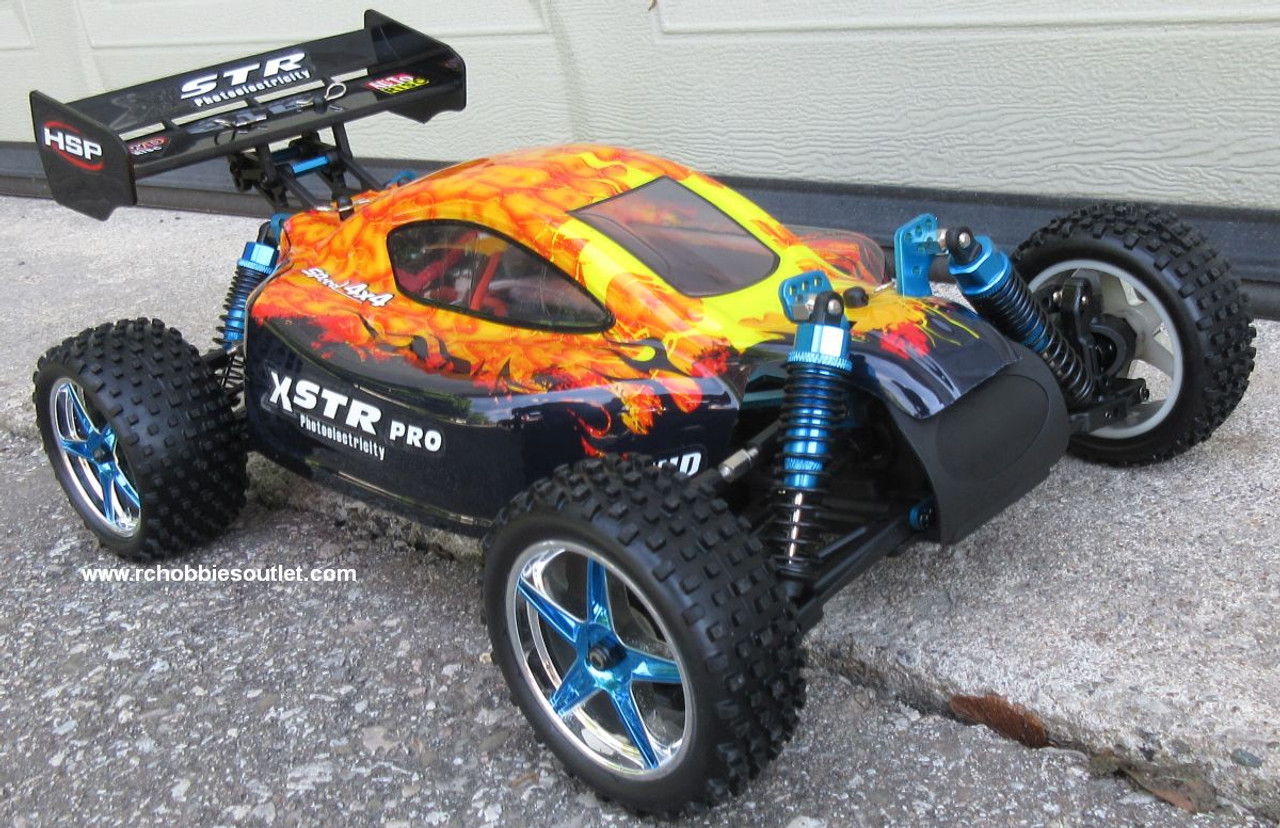RC Buggy / Car  Brushless Electric HSP 1/10  XSTR-PRO LIPO 2.4G 4WD 10737