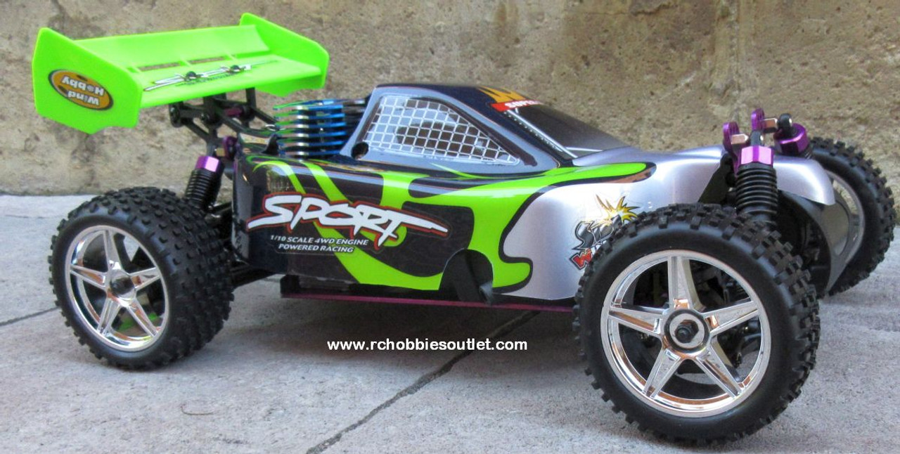 RC Nitro Buggy / Car  1/10  Radio Remote Control RTR 2.4G YX10603 G