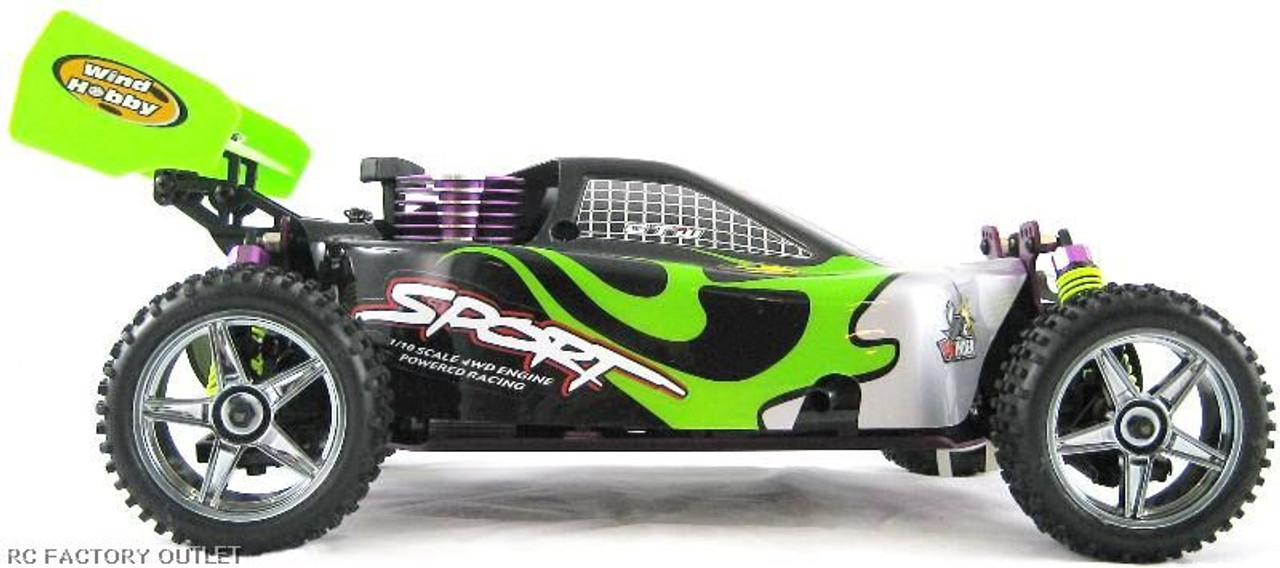RC Buggy / Car  Nitro gas