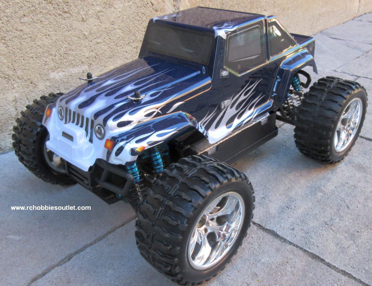RC Brushless Electric Truck 1/10 Scale  PRO LIPO 2.4G 4WD  12111