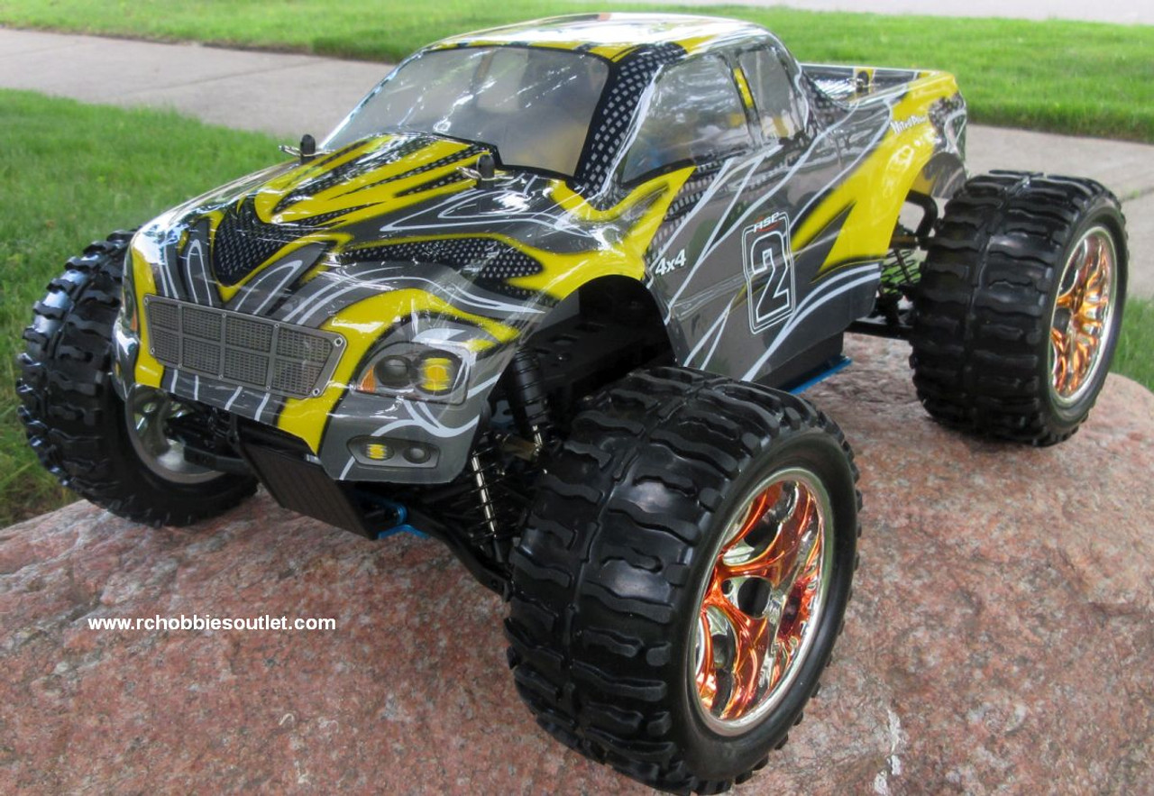 RC Nitro Gas Monster Truck HSP 1/10 Scale 4WD 2.4G RTR 10110