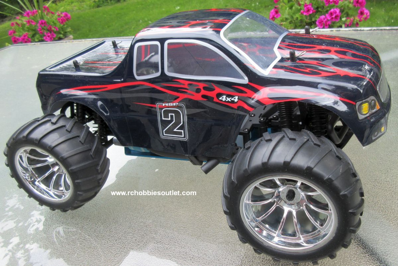 RC Nitro Gas Monster Truck HSP 1/10 Scale 4WD 2.4G RTR 88050