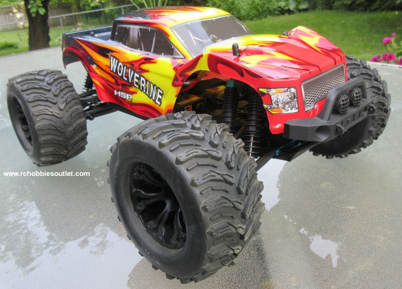Wolverine  RC Truck Electric 1/10 Scale  4WD  2,4G 70192