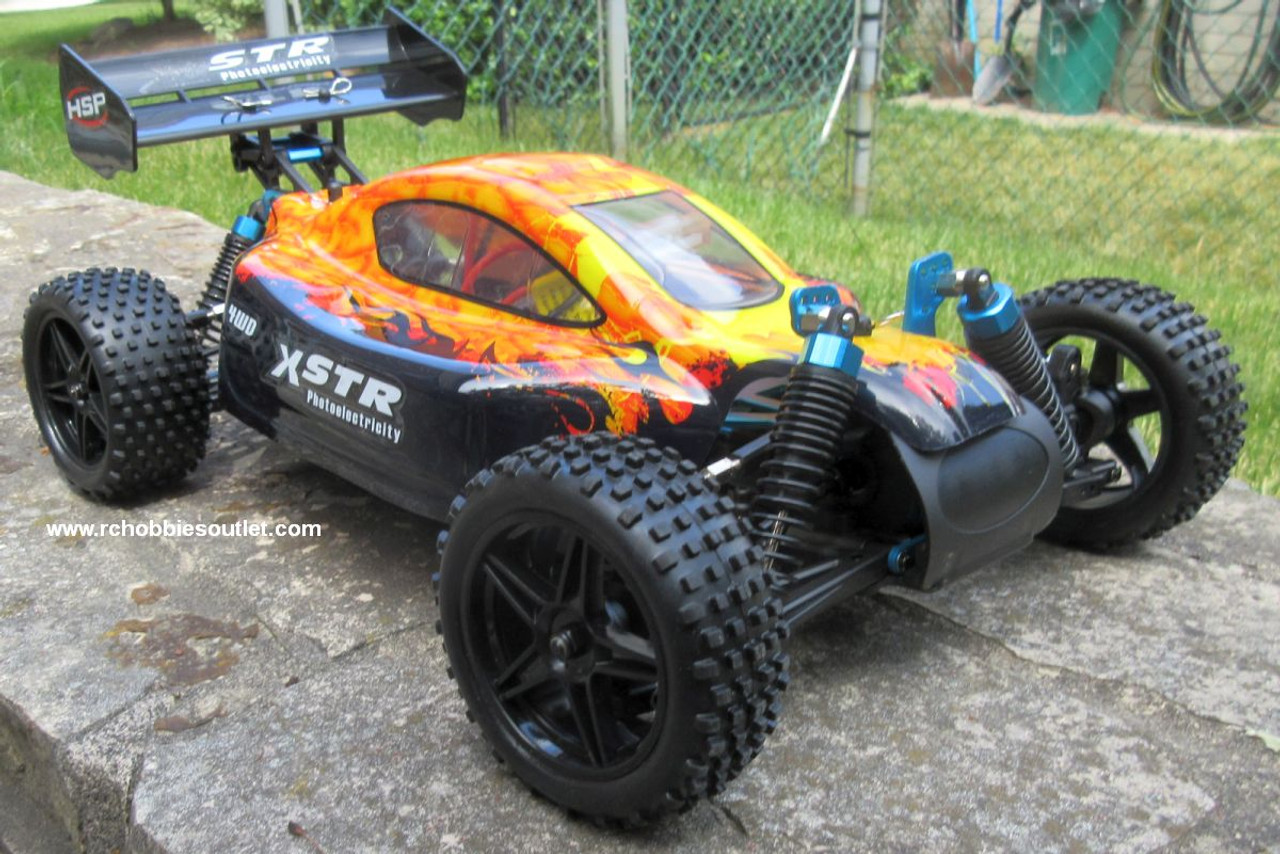 RC Car /.Buggy  Electric 1/10 Scale  2.4G 4WD  RTR  10737