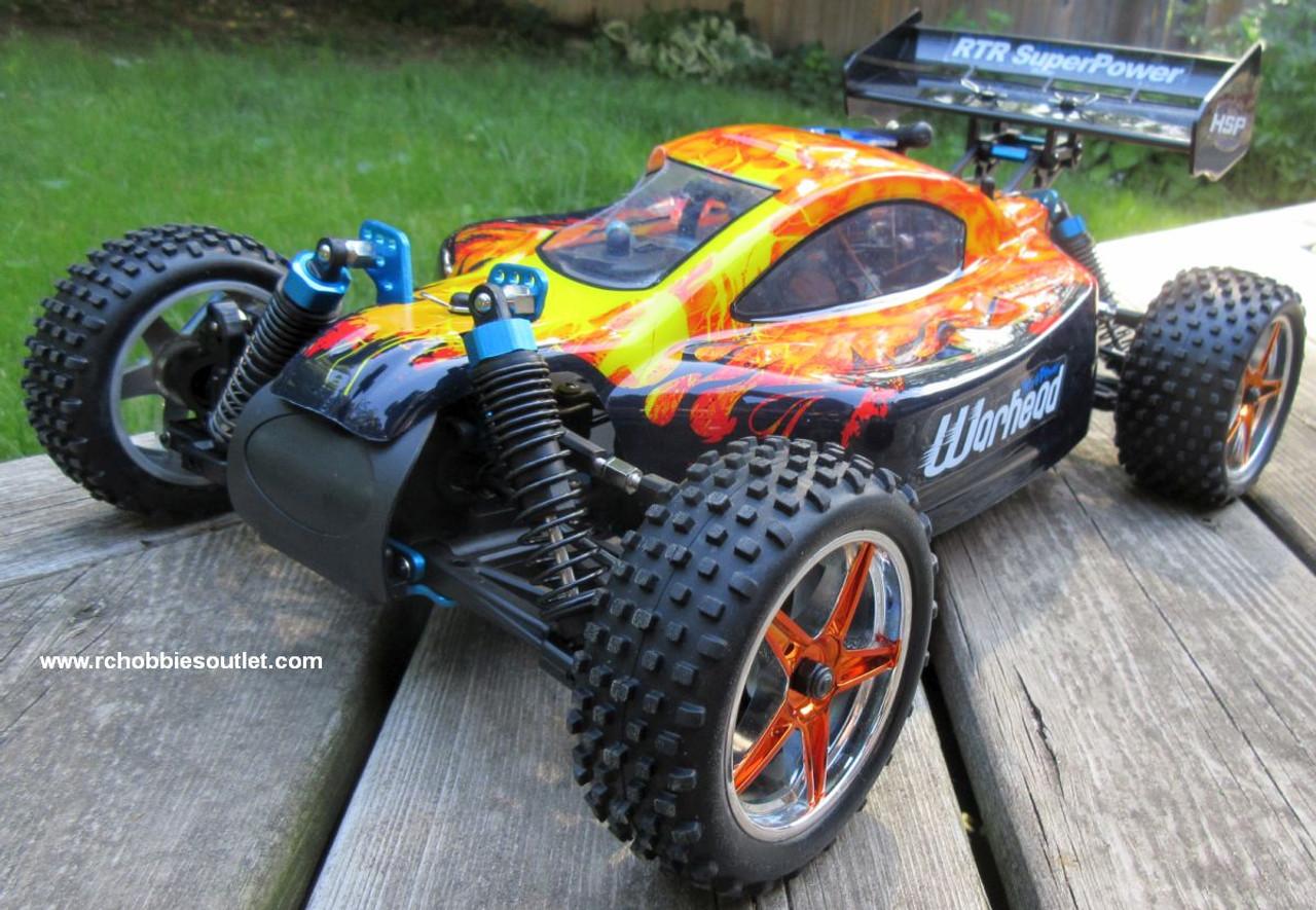 RC Nitro Gas Buggy / RC Car  HSP WARHEAD 2 Speed 2.4G 1/10 RACE 10737