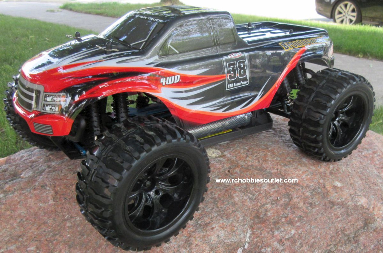 RC Truck Electric 1/10 Scale 4WD 2.4G Off- Road, RTR  111-AA-R
