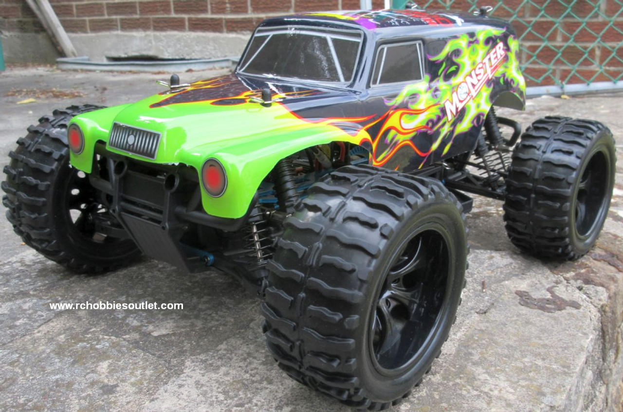 RC Truck Electric 1/10 Scale 4WD 2.4G Off- Road, RTR  94250-A