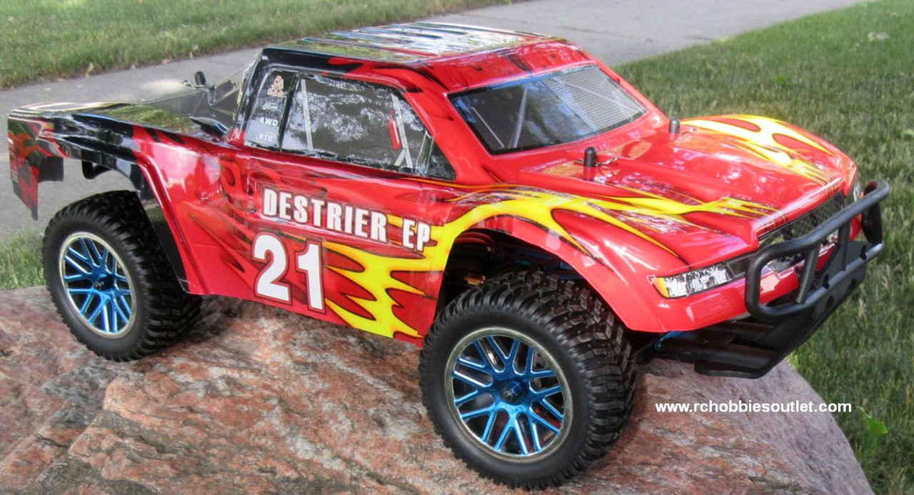 RC Short Course Truck Electric 1/10 Scale 2.4G  4WD RTR 15596
