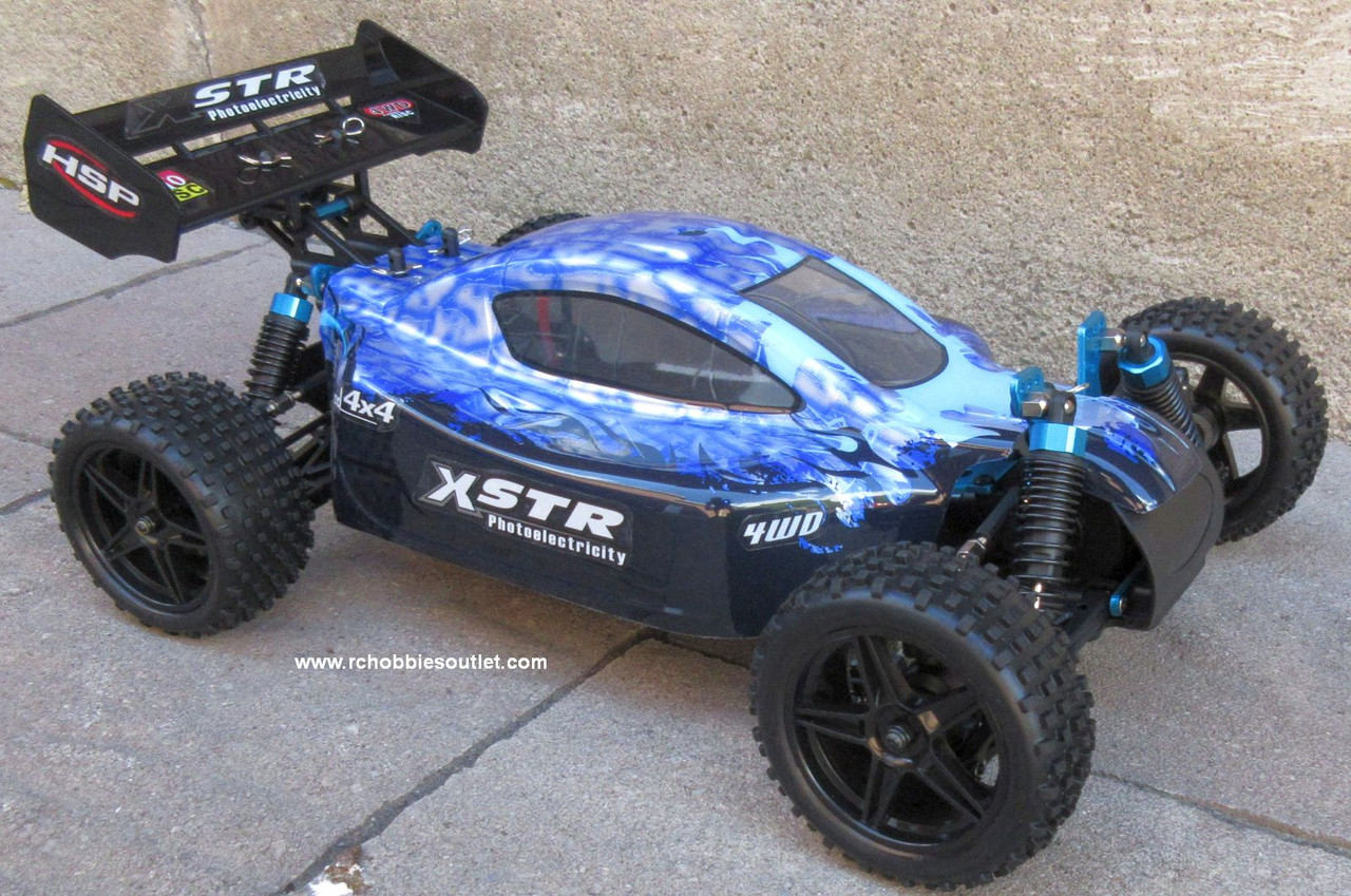 RC Car /.Buggy  Electric 1/10 Scale  2.4G 4WD  RTR  10738