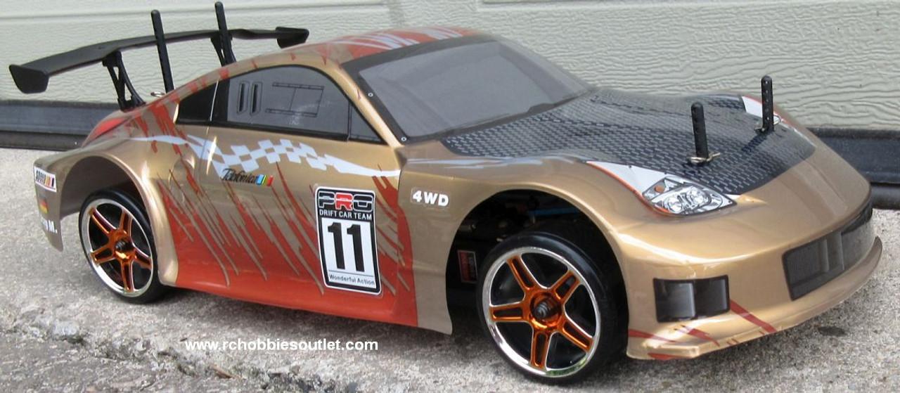 RC Drift Car Electric Radio  Control RTR 1/10 2.4G 4WD 12311