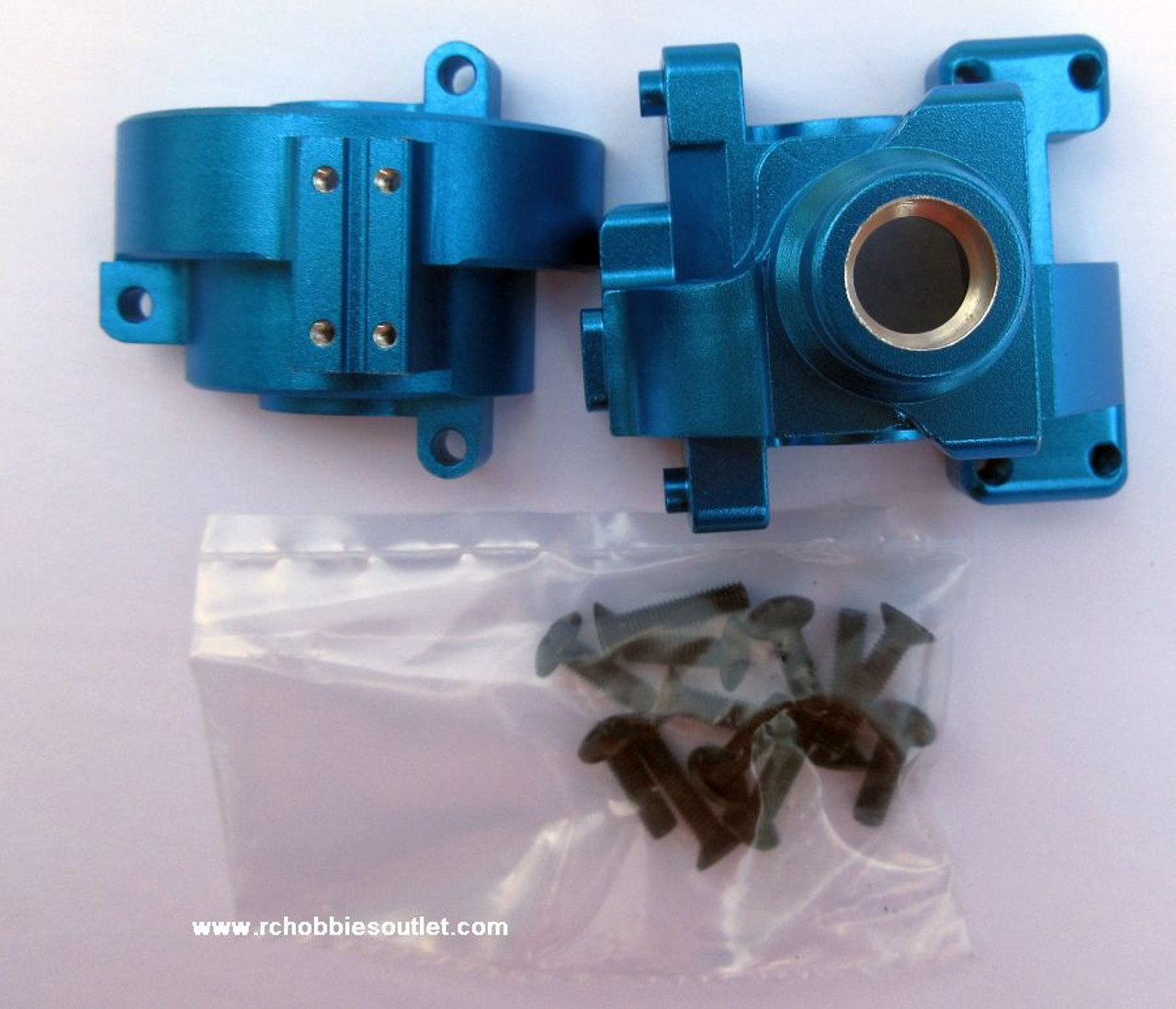 102075 Blue 1/10 Diff Gear Box Upgrade Part for HSP Redcat