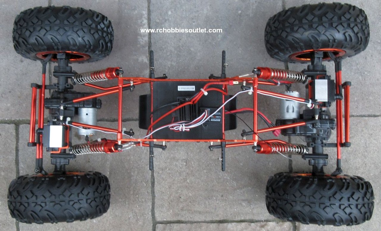RC Rock  Crawler Truck 1/8 Scale T2   Electric 4 Wheel Steering 4WD  2.4G 88115