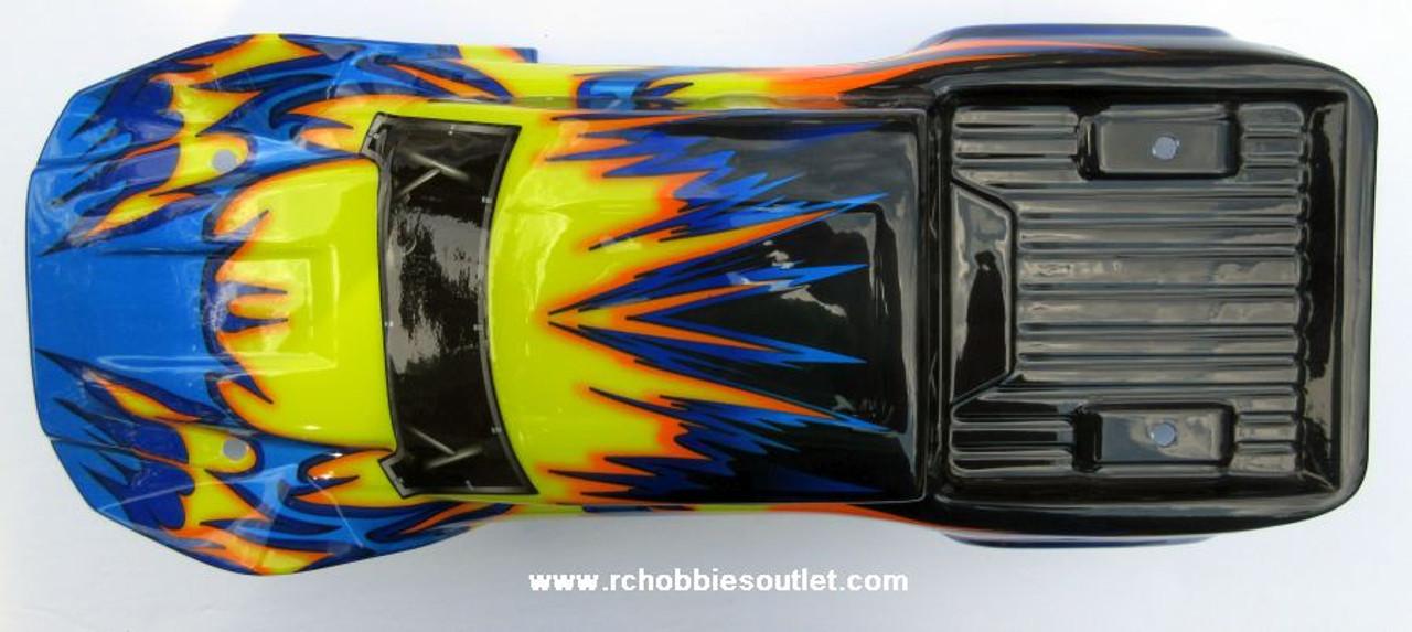 70191 Body Shell  1/10 Scale Wolverine Truck Precut  HSP