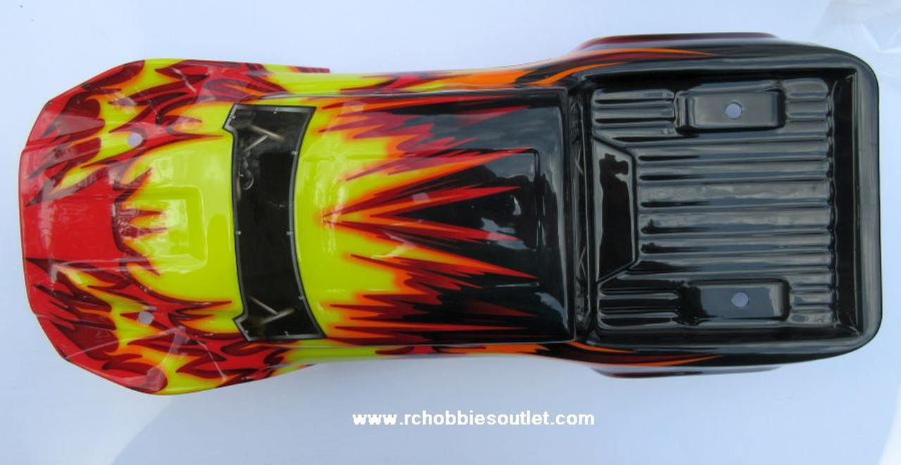 70192 Body Shell  1/10 Scale Wolverine Truck Precut  HSP
