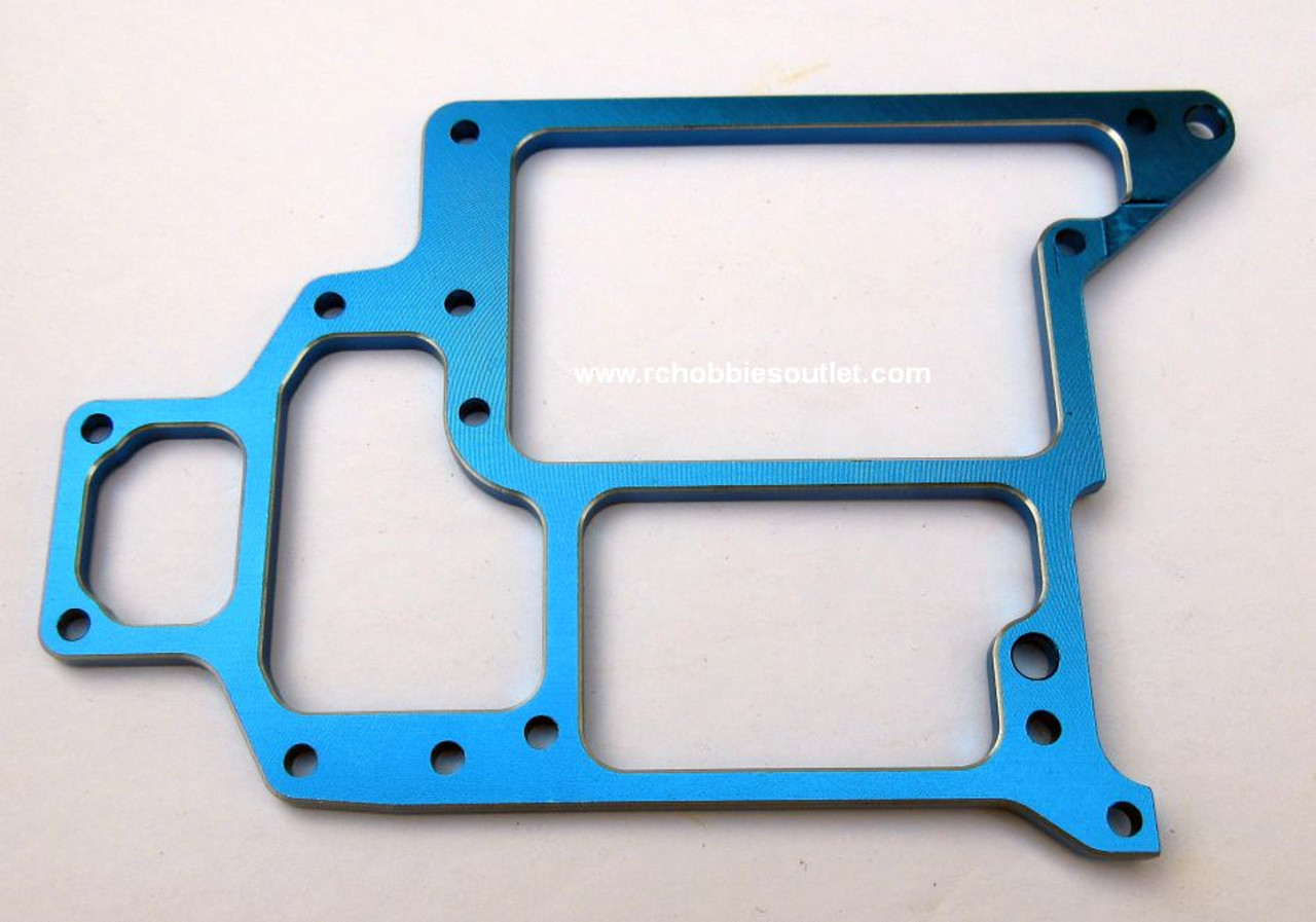 108865 / 108065 Aluminum  Upgrade  Radio Tray  Blue