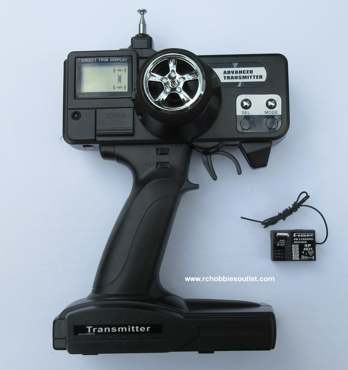 HSP AM 3 Channel Transmitter  and AM 3 Channel receiver for 4WS Rock Crawler