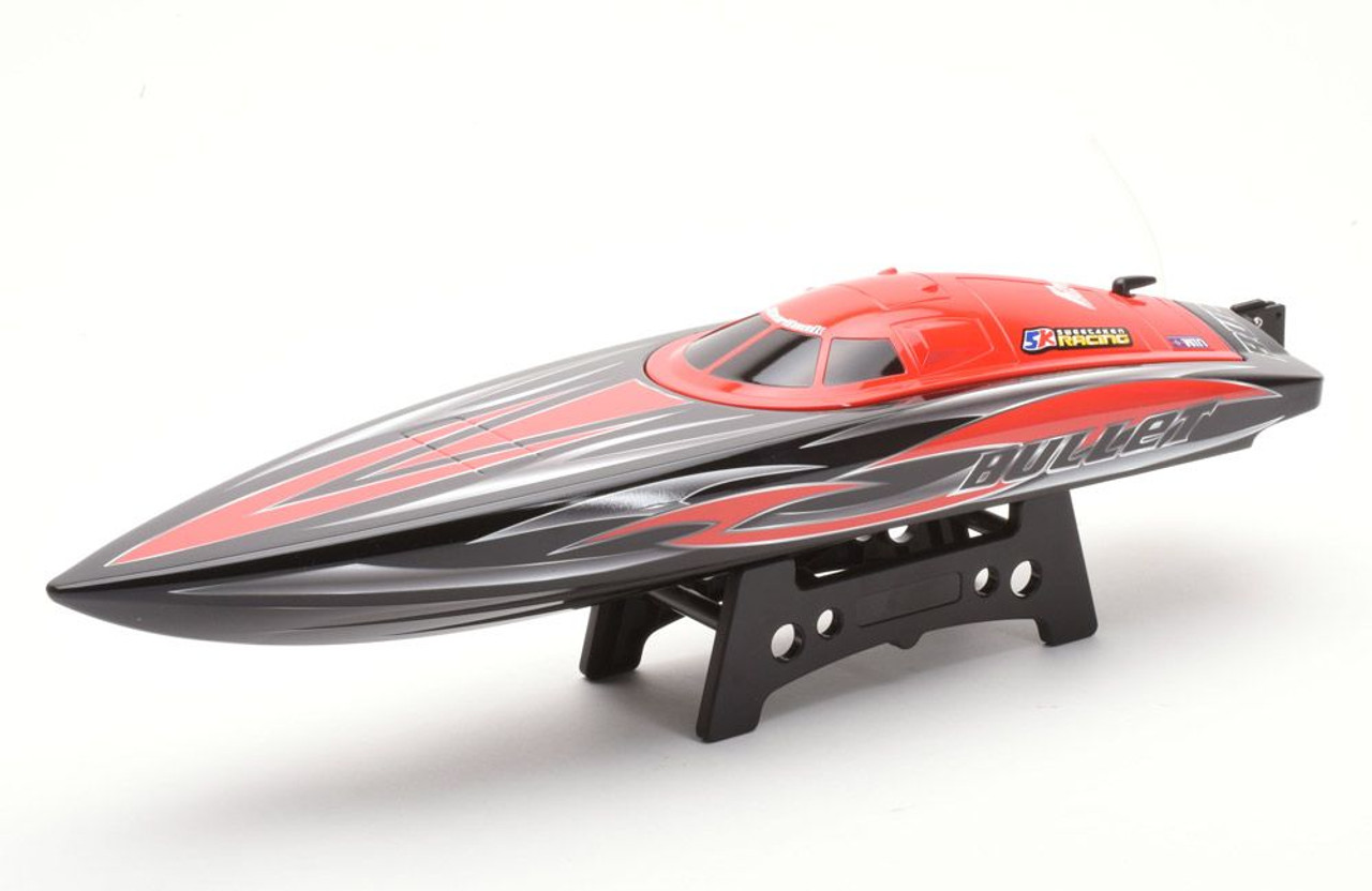 Bullet V3 RC Racing Boat  Brushless Electric RTR Deep V Hull LIPO Batteries and Charger