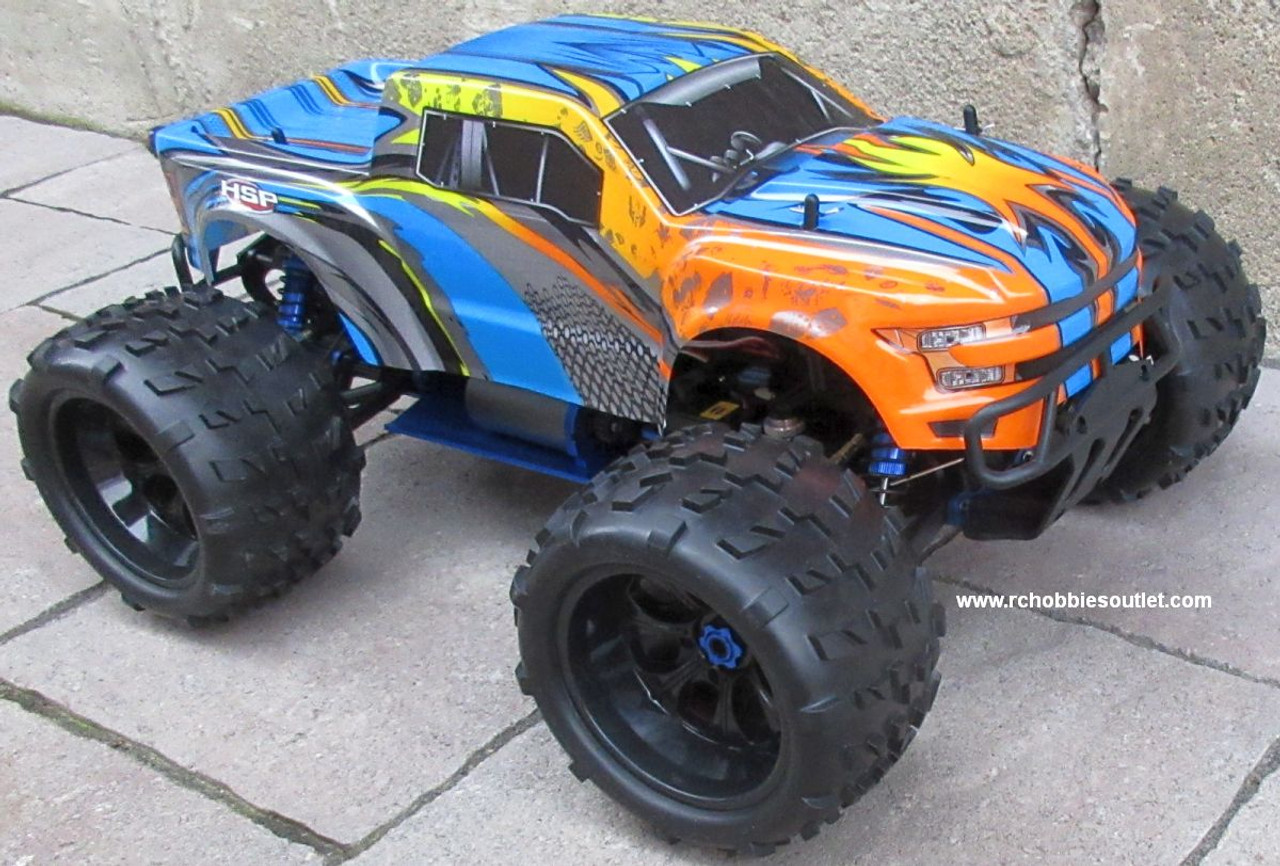RC Brushless Electric Monster Truck Top 2 ET6 1/8 Scale 4WD 2.4G  97291