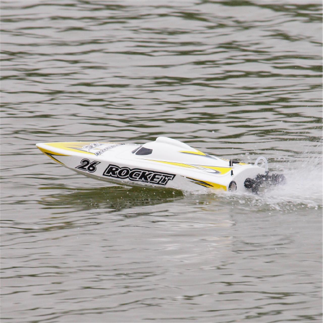 Joysway ROCKET V2 RC Boat Deep-V Hull Brushless Electric 8651 Ready to Run