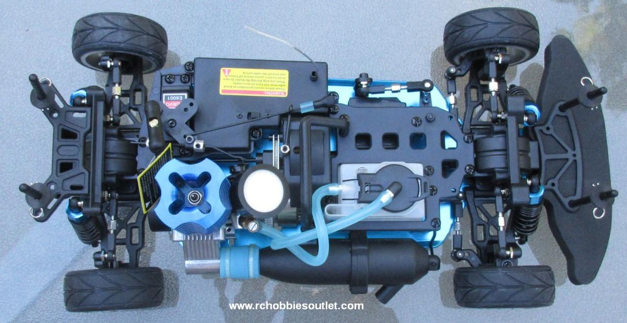 RC Nitro Gas Race Car Radio Remote Control 2.4G 1/10 01052 4WD 01052