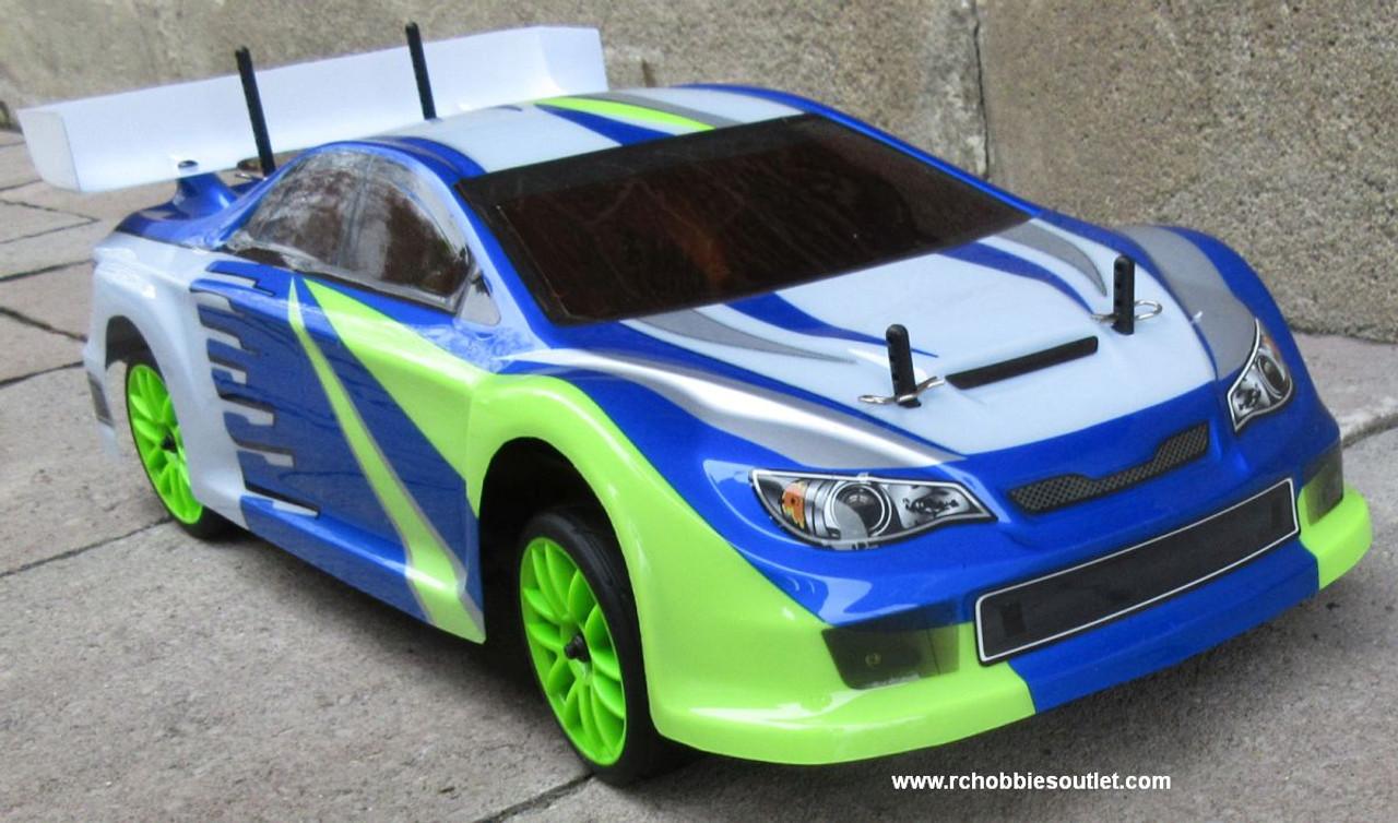 RC Nitro Gas Race Car Radio Remote Control 2.4G 1/10 01052 4WD 01045