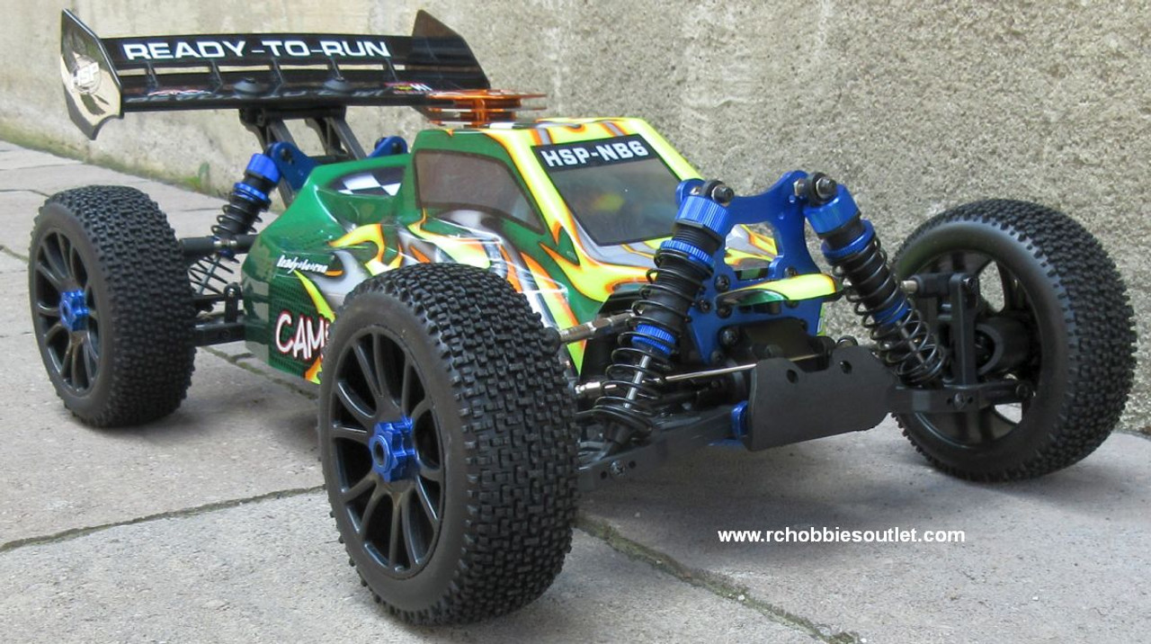 RC Buggy / Car  NB6 4.25cc Nitro Gas Engine 1/8 Scale  4WD 2.4G 97092
