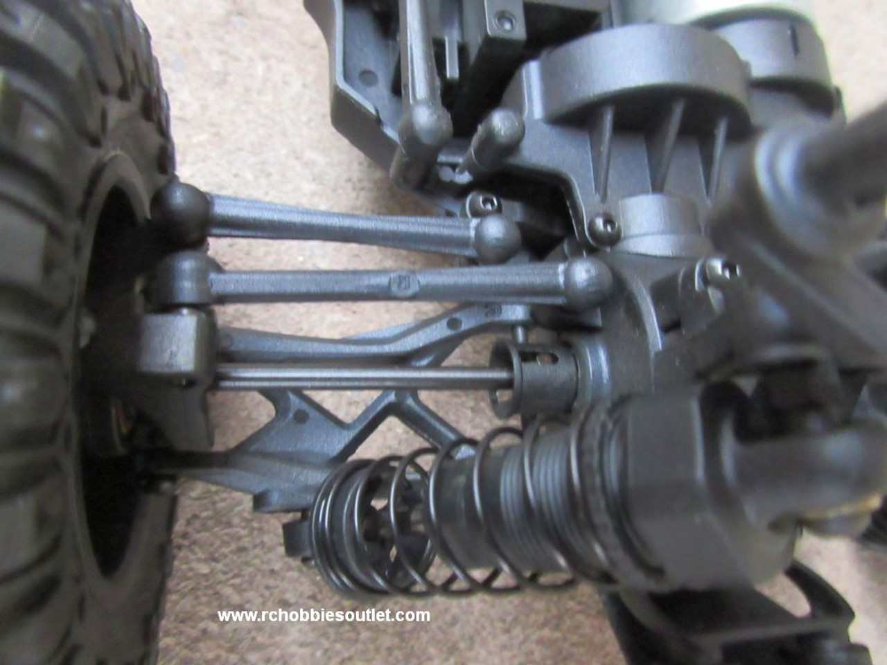 Front Suspension , Steel shaft