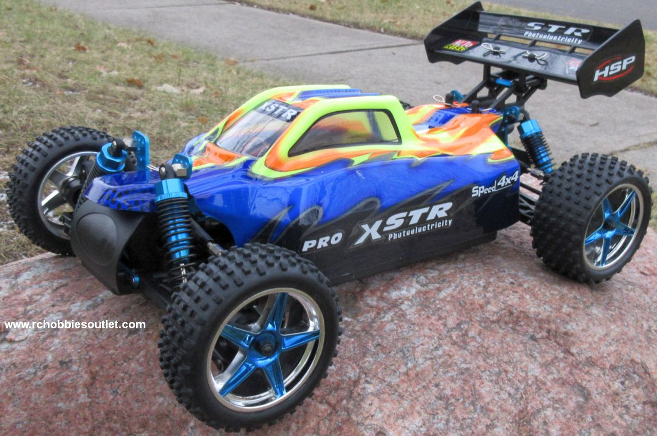 RC Buggy / Car  Brushless Electric HSP 1/10  XSTR-PRO LIPO 2.4G 4WD 10747
