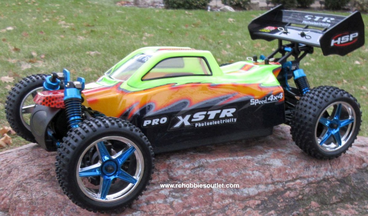RC Buggy / Car  Brushless Electric HSP 1/10  XSTR-PRO LIPO 2.4G 4WD 10748