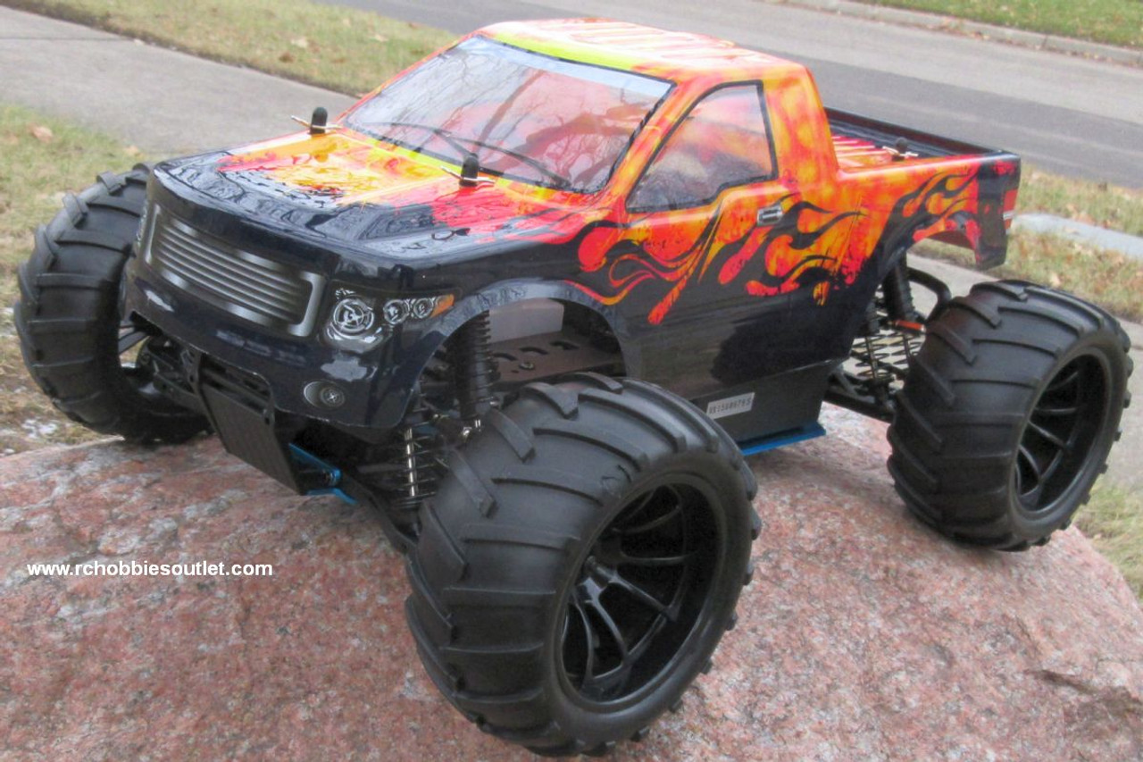 RC Nitro Gas Monster Truck HSP 1/10 Scale 4WD 2.4G RTR 88067