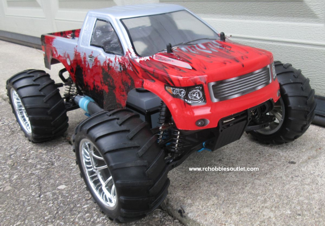 RC Nitro Gas Monster Truck HSP 1/10 Scale 4WD 2.4G RTR 88073