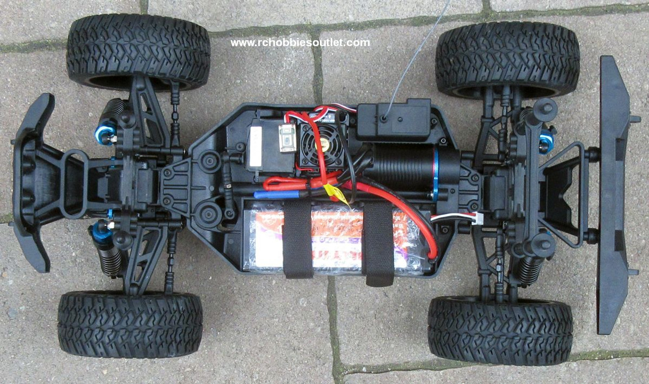 EP  Pro RC Truck Brushless Electric 1/10 4WD LIPO 2,4G 70291