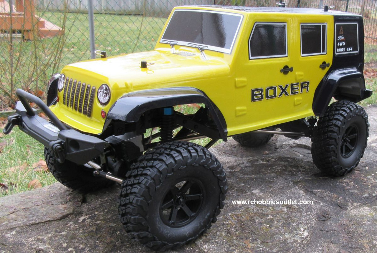 RC Crawler/Trail  Truck BOXER Electric 1/10 Scale RTR 2.4G 4WD 70693