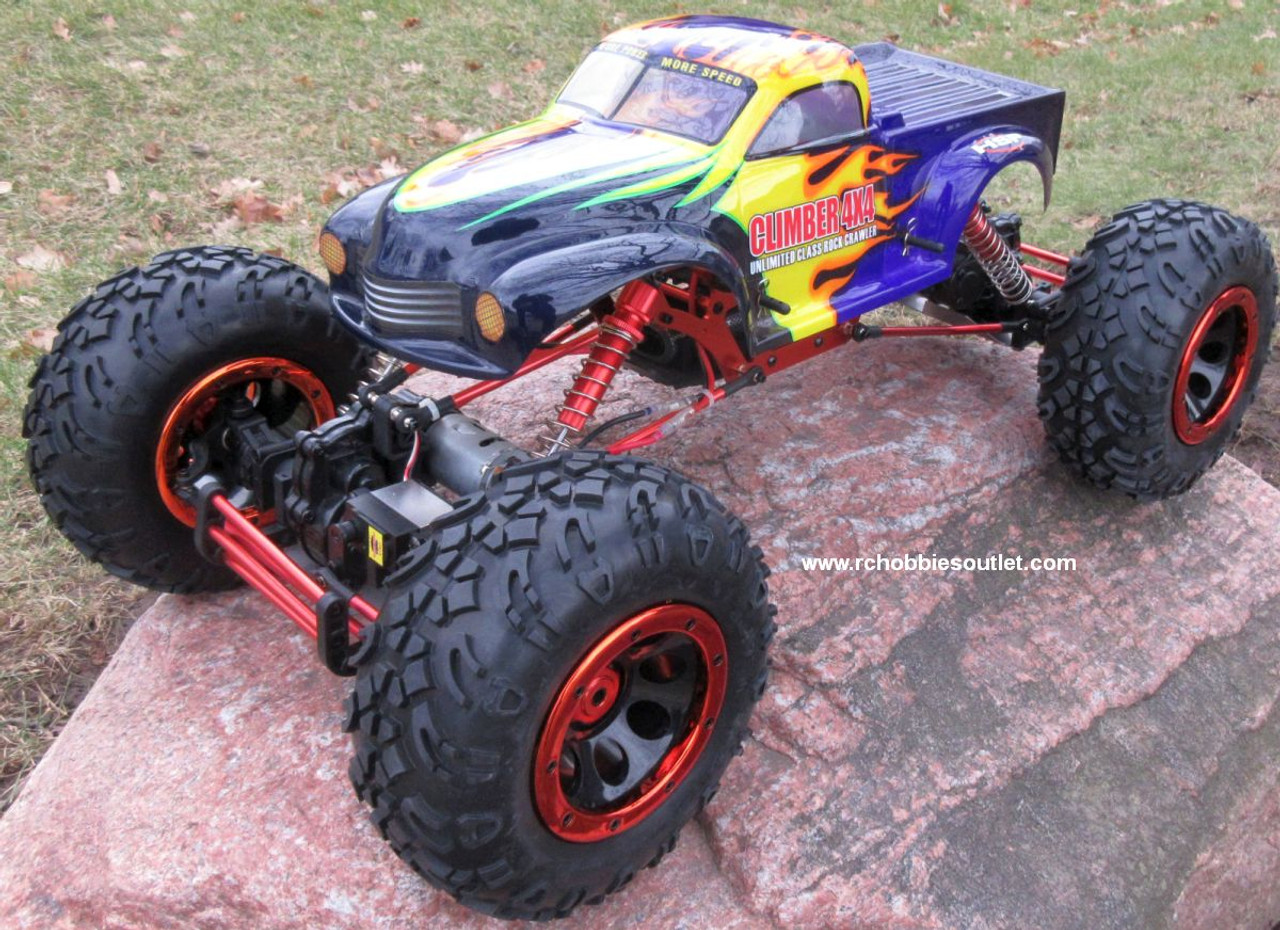RC Rock  Crawler Truck 1/8 Scale T2  Electric 4 Wheel Steering 4WD  2.4G 48810