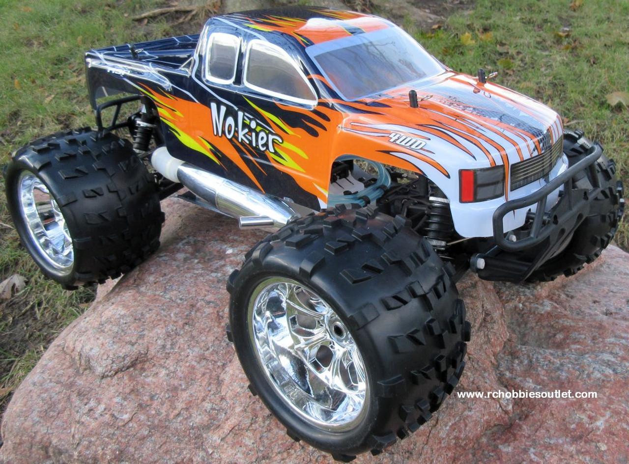 RC Nitro Truck 1/8 Scale  Radio Control Nokier 3.5cc  4WD 2 Speed 2.4G 86291