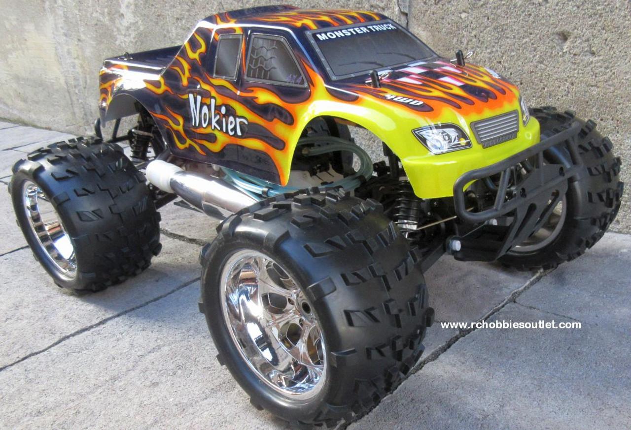 RC Nitro Truck 1/8 Scale  Radio Control Nokier 3.5cc  4WD 2 Speed 2.4G 08304